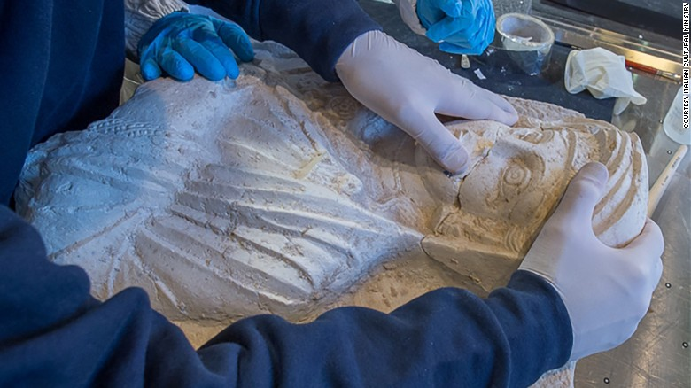 Palmyra busts restored in Italy as tribute to senior archaeologist Al-As'ad - OnuItalia