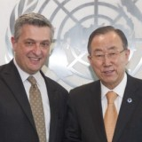 The Secretary-General meets Commissioner General, UNRWA.