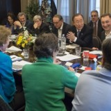 Secretary-General attends Closing Session of Climate Change Principals Meeting.
