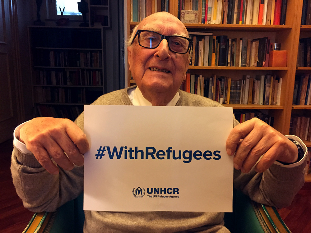 Andrea Camilleri #WithRefugees