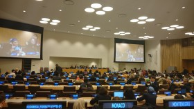 """Bonino a """"Financing for gender equality and women's empowerment in the 2030 Agenda"""" (Foto AS)"""