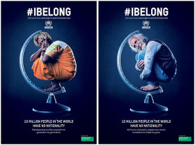 "United Colors of Benetton per ""I belong"" di UNHCR"