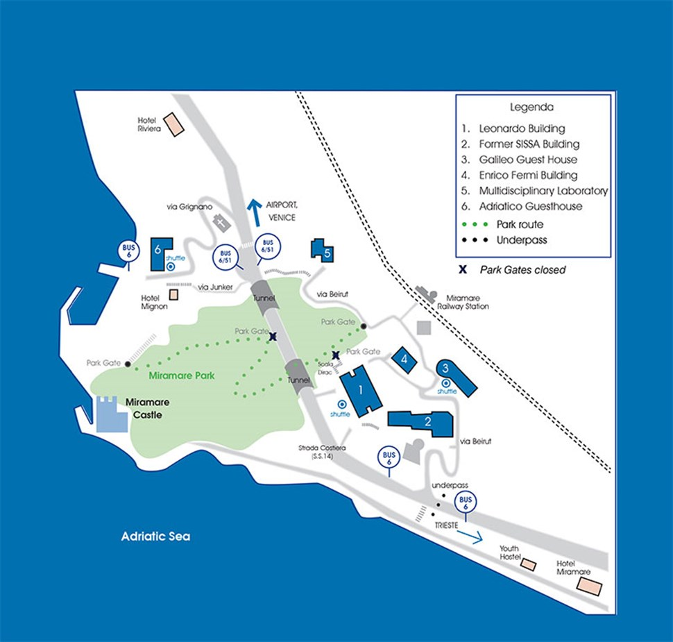 ictp_campus_map