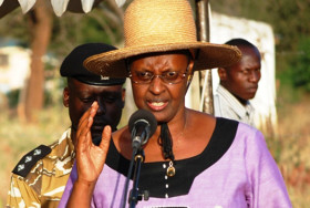 La First Lady Janet Museveni