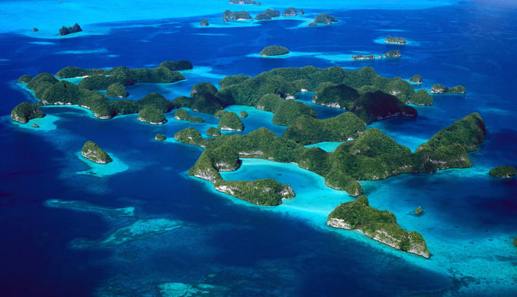 Rock Islands Southern Lagoon in Palau