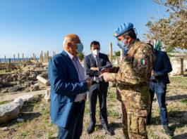 UNIFIL: Tiro, caschi blu italiani completano lavori sito archeologico