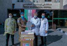 Italiani di Unifil donano attrezzature mediche anti-Covid