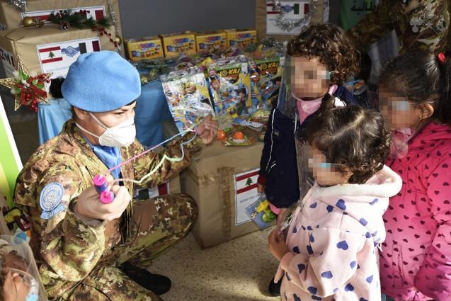 UNIFIL: contingente Italiano impegnato a favore bambini