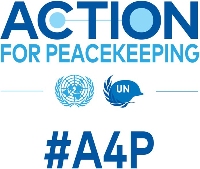 Action for Preacekeeping logo Un.org