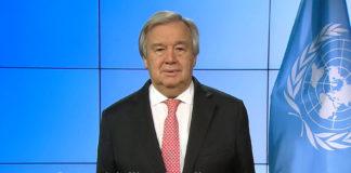 Guterres: dopo anno tragedie