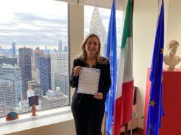 Italia all'Onu partecipa a iniziativa New York #SecretSnowflake
