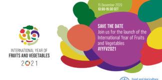 2021 anno della frutta e della verdura
