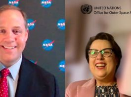 UNOOSA's Di Pippo sign agreement with NASA