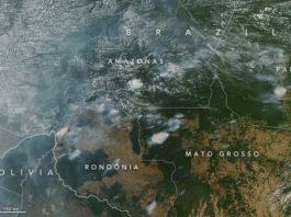foto NASA Amazzonia